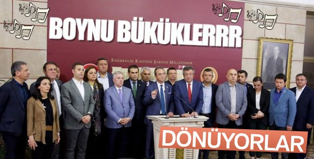 CHP'den İYİ Parti'ye geçen 15 milletvekili geri dönüyor