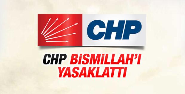 YSK CHP'nin Bismillah yasaklansın başvurusunu onadı
