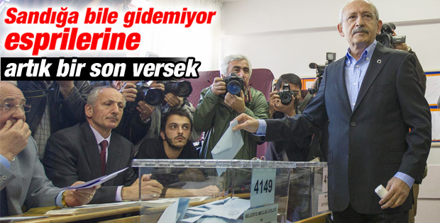 CHP Lideri Kemal Kılıçdaroğlu oyunu kullandı İZLE