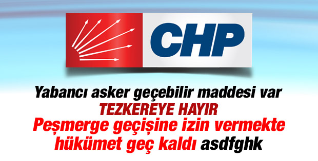 Loğoğlu: Hükümetin  Peşmerge kararı geçikmiş bir adım