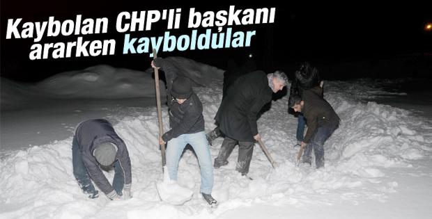 CHP'li Başkan bulundu aramaya gidenler kayboldu