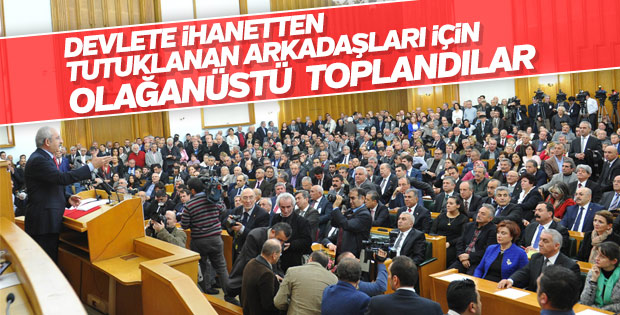 CHP'den olağanüstü toplantı kararı
