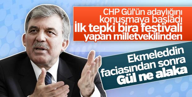 CHP'li Mustafa Akaydın'dan Abdullah Gül çıkışı