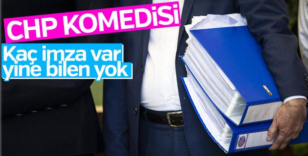 Kılıçdaroğlu tarafı: Yeterli imza yok