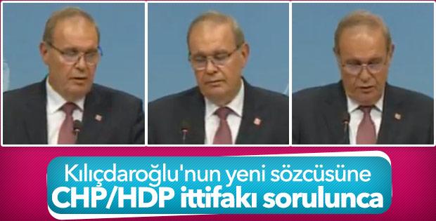 CHP-HDP ittifakı sorulunca Faik Öztrak zor anlar yaşadı