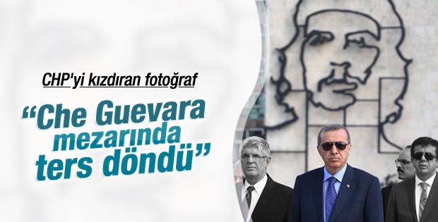 CHP Erdoğan'ın Küba fotoğrafını eleştirdi