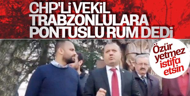 CHP'li vekillerden İlhami Özcan Aygun'a tepki