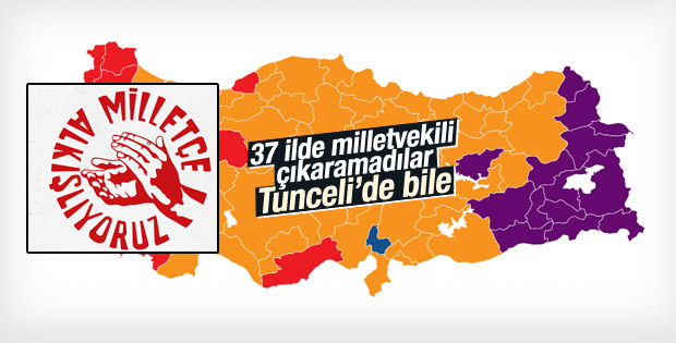 CHP 37 ilde milletvekili çıkaramadı