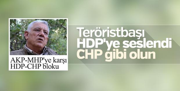Terör örgütü PKK'dan CHP'ye birlik çağrısı