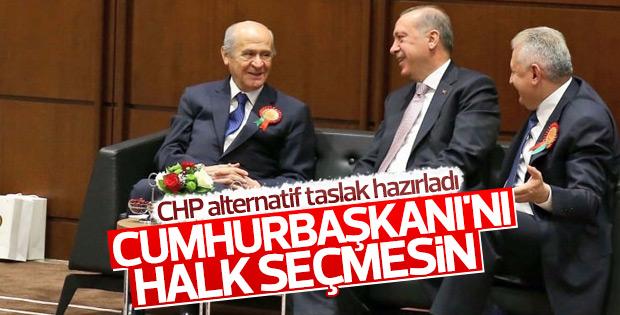 CHP alternatif anayasa değişikliği taslağı sunacak