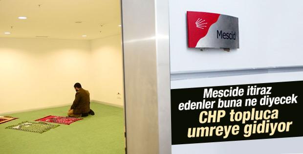 CHP toplu olarak umreye gidecek