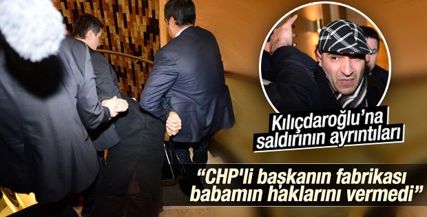 Kılıçdaroğlu'na ayakkabılı saldırının ayrıntıları