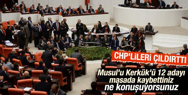 Ahmet Aydın'ın Meclis'te CHP'lileri çıldırtan konuşması