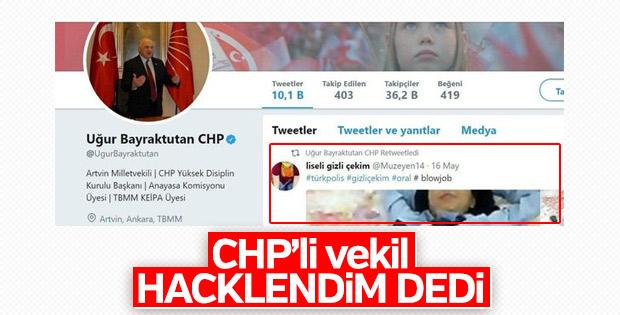 CHP'li vekil erotik paylaşımı üzerine açıklama yaptı