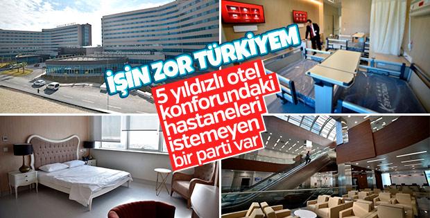 CHP şehir hastanelerini 'kambur' olarak görüyor