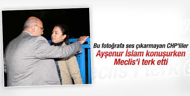 CHP'li milletvekilleri Ayşenur İslam'ı protesto etti