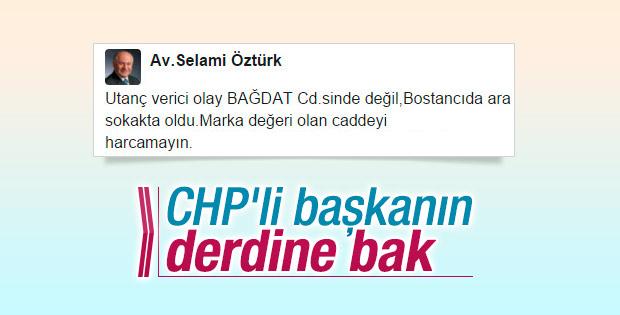 CHP'li başkandan tepki çeken tweet