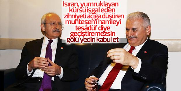 Kılıçdaroğlu, Başbakan ile tesadüfen çay içtiğini söyledi