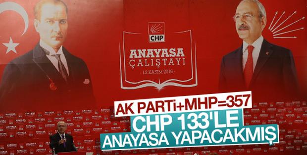 CHP'nin anayasa taslağı belli oldu