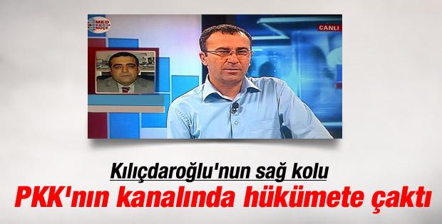 Kılıçdaroğlu'nun yardımcısı PKK kanalında konuştu