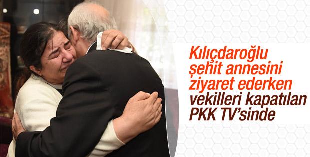 Terör örgütünün TV'sine CHP'den destek