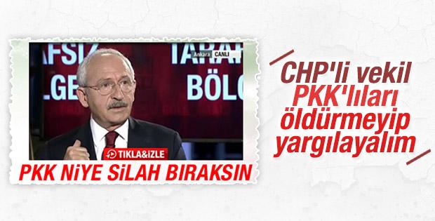 CHP'li Murat Emir: Terörist de olsa yargılanmaya hakkı var