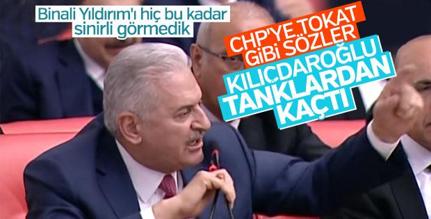 Başbakan Yıldırım, CHP'li Özel'e tepki gösterdi