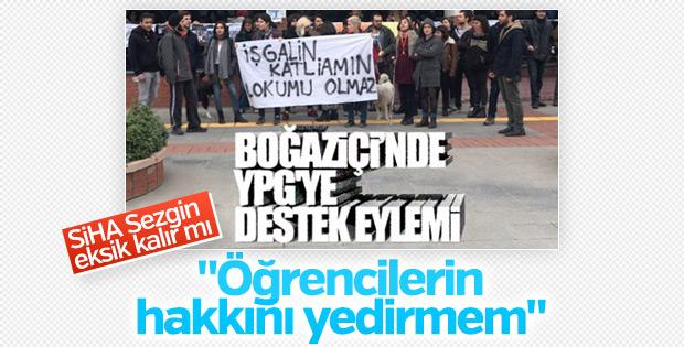 Boğaziçi'ndeki terör yandaşlarına CHP sahip çıktı