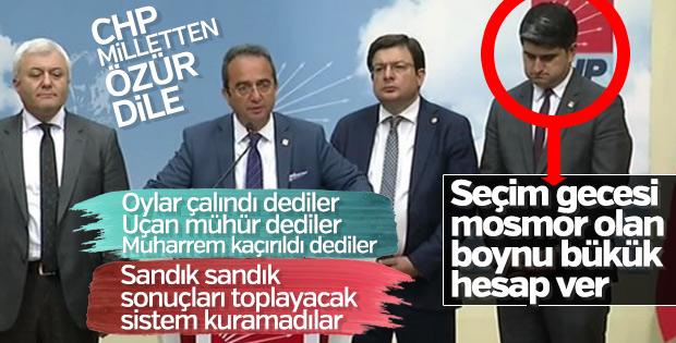 CHP'liler kendi iddialarını yalanladı