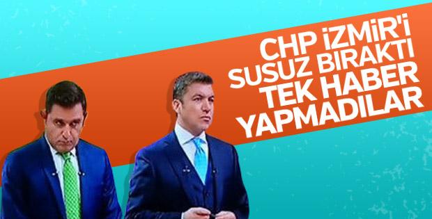 FOX Haber İzmir'deki rezaleti görmedi