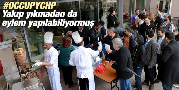 CHP Genel Merkezi'nde #OccupyCHP forumu