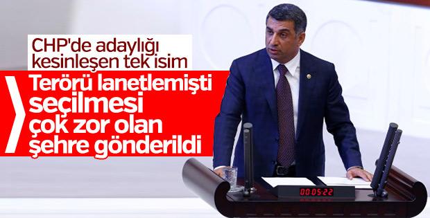 CHP'de adaylığı kesinleşen tek milletvekili