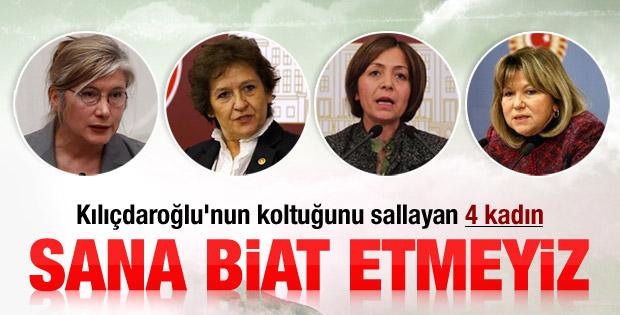 CHP'li muhaliflerden Kılıçdaroğlu'na cevap