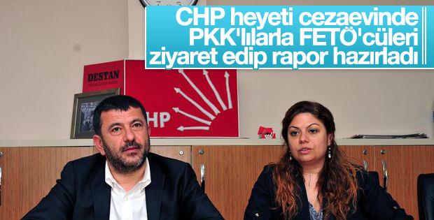 CHP'nin terör destekli cezaevleri raporu