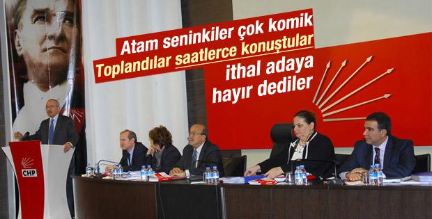 CHP: Cumhurbaşkanı adayımız bizden çıksın