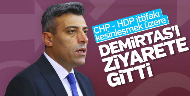 CHP'li vekil Selahattin Demirtaş'ı ziyaret etti