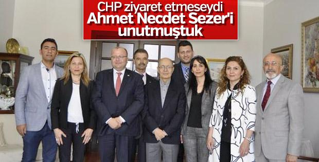 CHP'liler Ahmet Necdet Sezer'i ziyaret etti