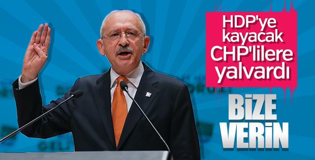 Kılıçdaroğlu: HDP yerine bize oy verin