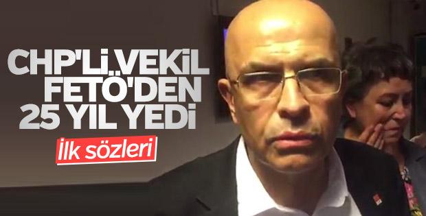 Tutuklanan Enis Berberoğlu'ndan ilk açıklama