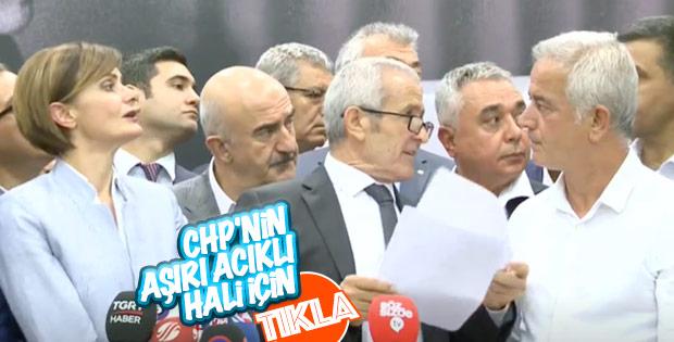CHP'liler il başkanlarını sayamadı