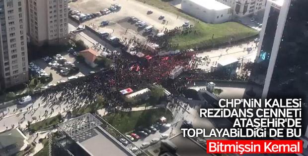 Kemal Kılıçdaroğlu'nun Ataşehir mitingi