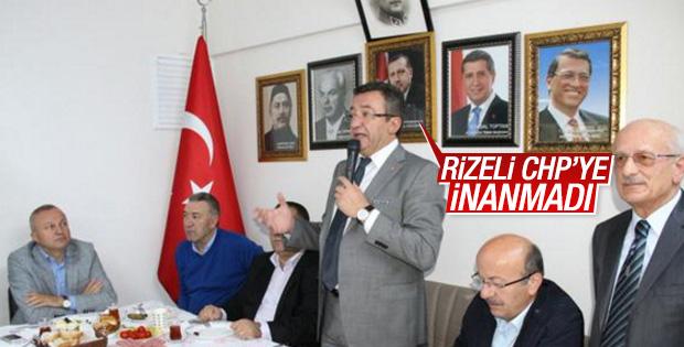 CHP'li vekiller Erdoğan fotoğrafı önünden seslendi