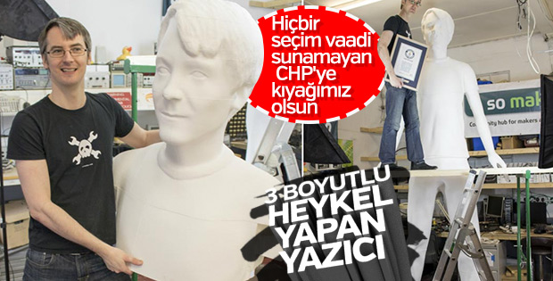 Heykel partisi CHP'den her yerde, her yere heykel