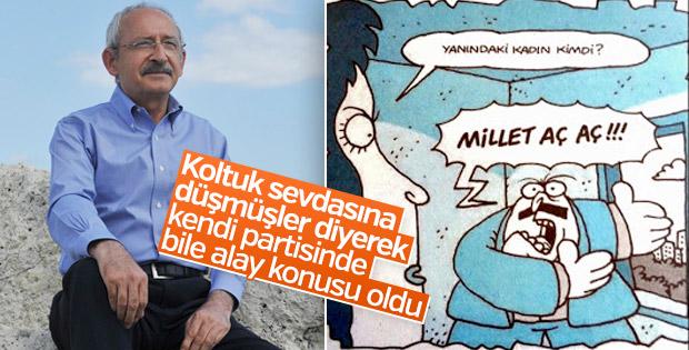 CHP'li vekilden Kılıçdaroğlu'na: Korku dağları sarmış