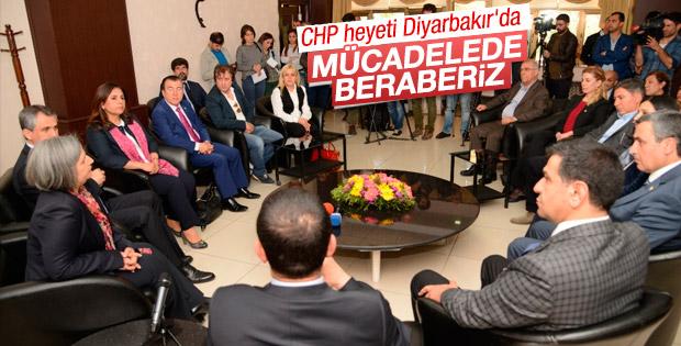 CHP heyetinden HDP'li Diyarbakır Belediyesi'ne ziyaret