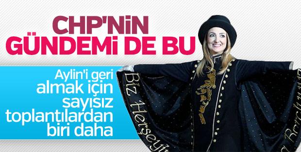 CHP, bir kez daha Aylin Nazlıaka için toplanacak