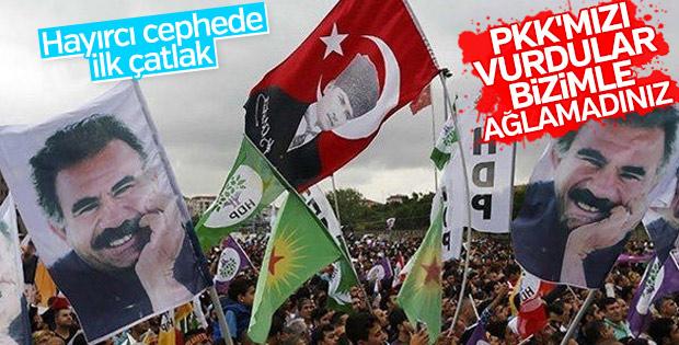 HDP'den CHP'ye PKK tepkisi