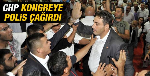Antalya'da CHP kongresinde olaylar çıktı