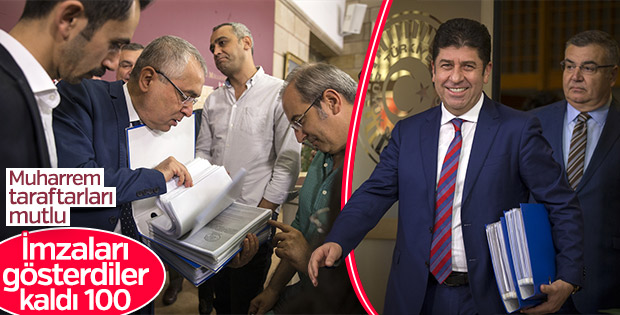 CHP'de muhaliflerin ulaştığı imza sayısı 526 oldu