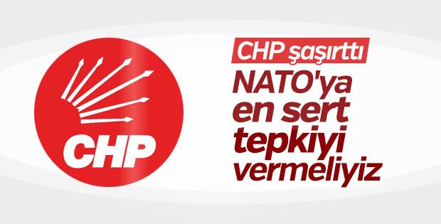 CHP'den NATO'nun skandalına ilişkin ilk açıklama